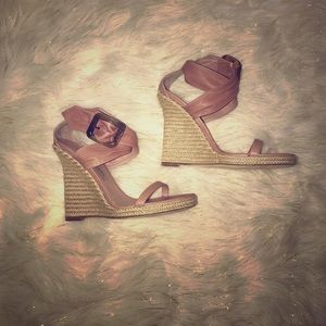 Authentic Burberry wedges